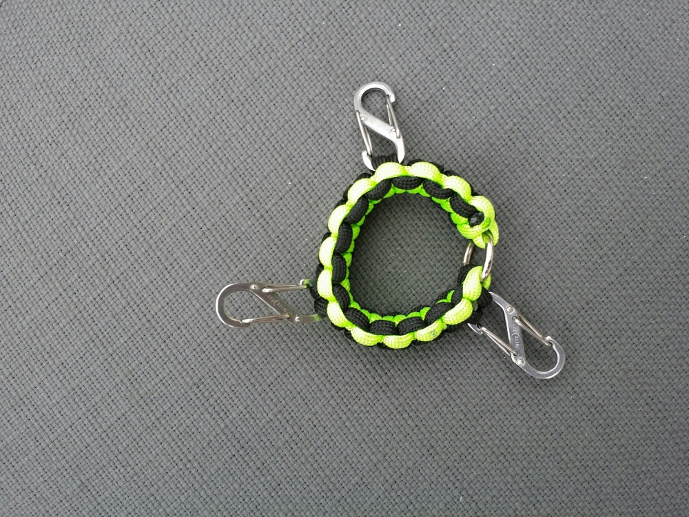 Paracord Bracelet Guy Ring and Mast (1)