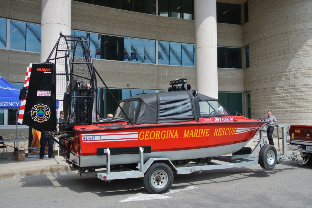 The famous Marine Rescue Unit
